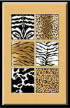 New Trendy Animal Print Styles! Leopard print, Zebra skins, Cow Skin , Tiger print  & More!