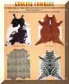 New Zealand Chic Stylish animal print Cowhide Rugs ! Latest Styles of Leather Rugs !