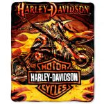 Harley Davidson Rugs and Blankets